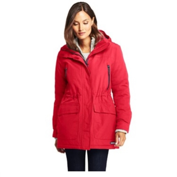 9596c5dbf0 NWT lands end squall insulated waterproof jacket